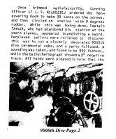 1968-b 9000th Dive